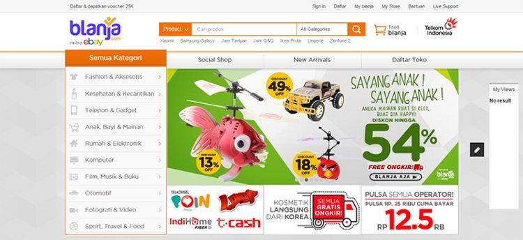 Hanya Di Blanja.com Tempat Jual Beli Dan Belanja Online Yang Aman Dan Menguntungkan