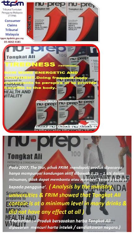 Consumer Claims Tribunal Malaysia.Nu-Prep 100 US patent long jack