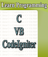 Learn C, VB, PHP