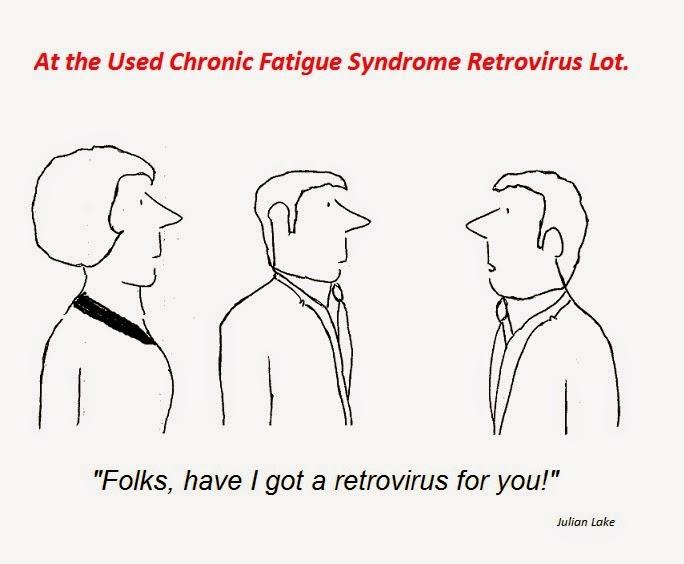 cartoon, xmrv, retrovirus, mikovits, cfs, chronic fatigue syndrome, hhv-6