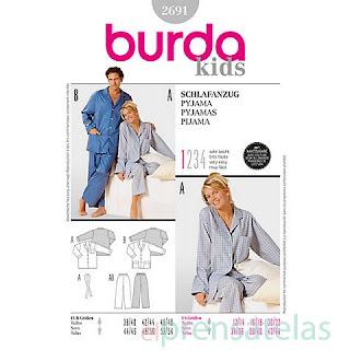 Patrón pijama