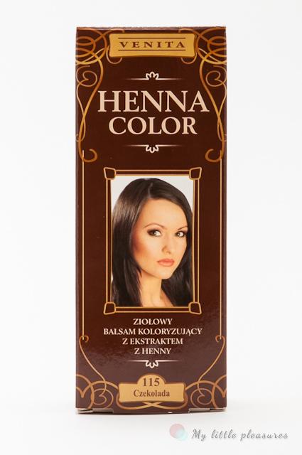 Venita Henna Color - Ziołowy balsam koloryzujący