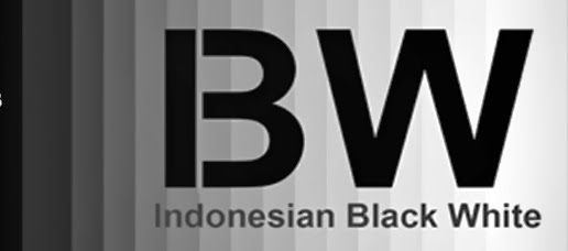 Indonesian Black White