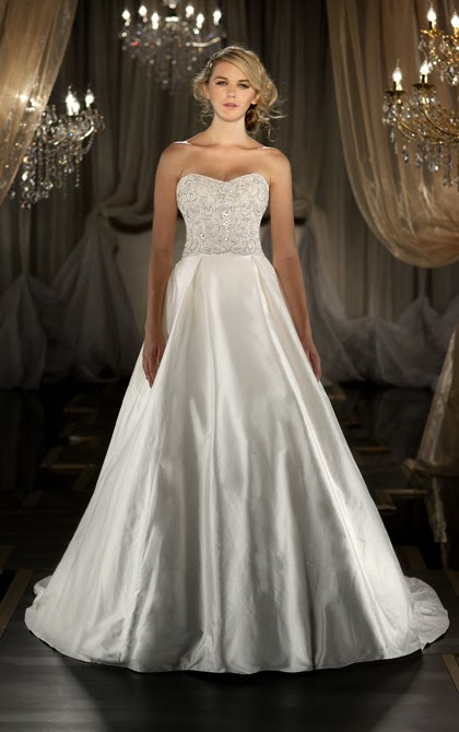 2 in 1 Wedding Dresses With or Without the Waistband 02b