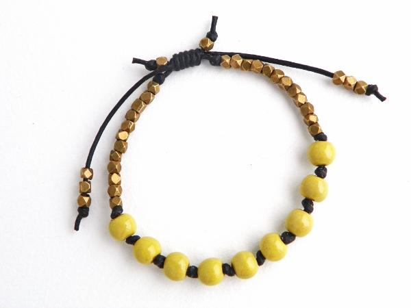bead free tutorial sliding knot