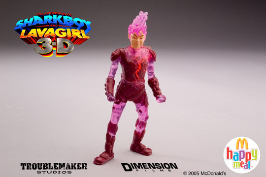Sharkboy And Lavagirl Mcdonald S Toys : She s fantastic mcdonald happy meal lavagirl