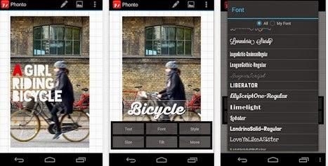 Phonto - Aplikasi Edit Foto Android Terbaik dan Gratis