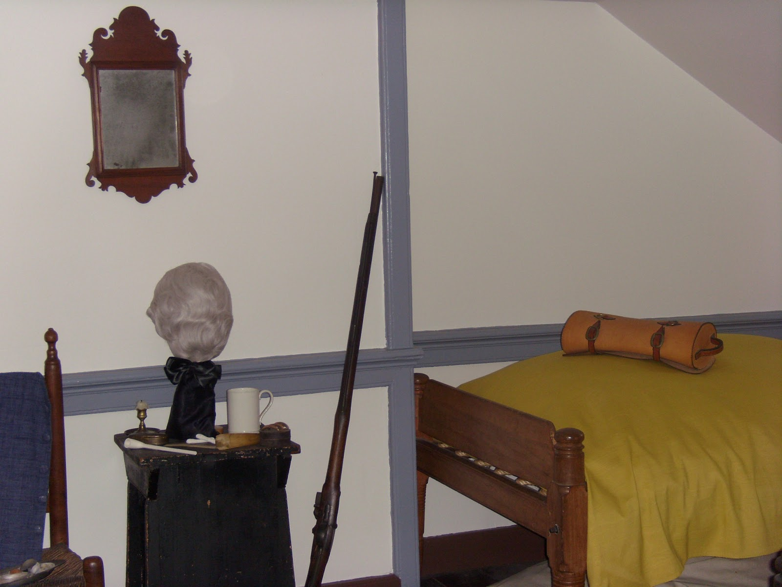 Gadsby's Tavern sleeping quarters