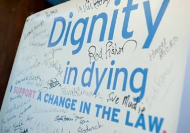 Dignity in Dying - I support a change in the law