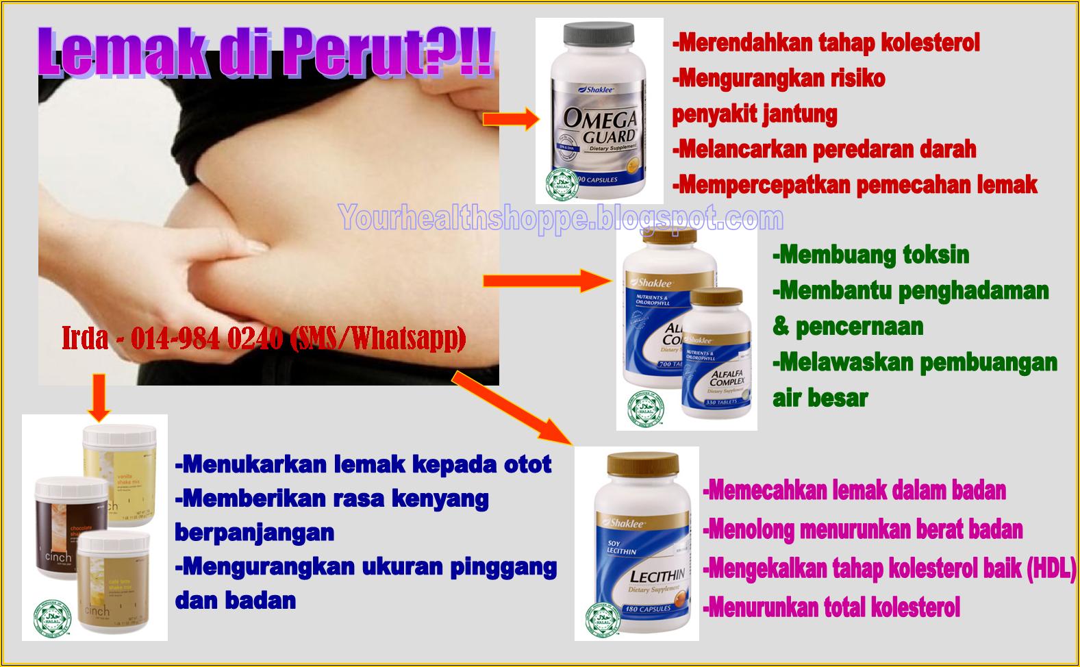 vitamin perut buncit shaklee