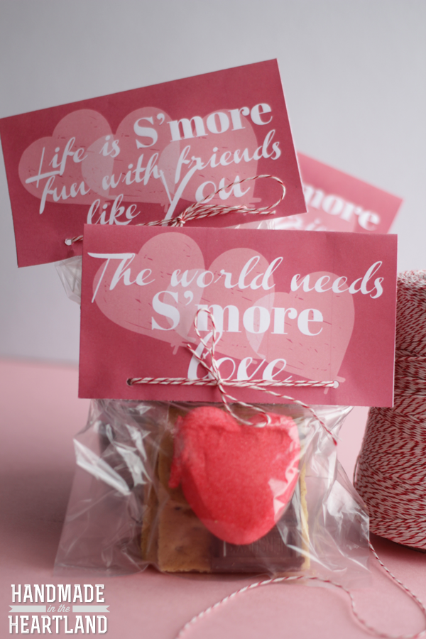 S'more Valentine Free Printable