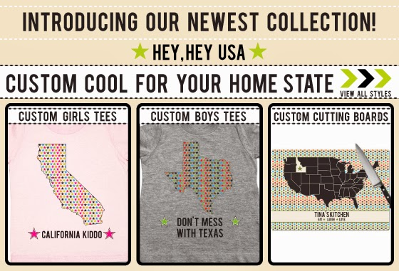 Home State Tees for Baby and Kids