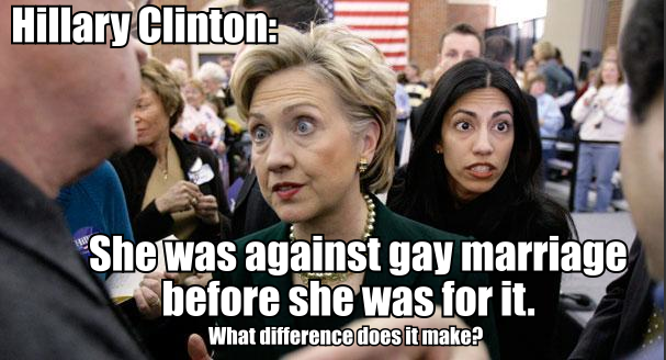 from Aarush hillary clinton gay marriage