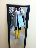 Hunter Boots Yellow1