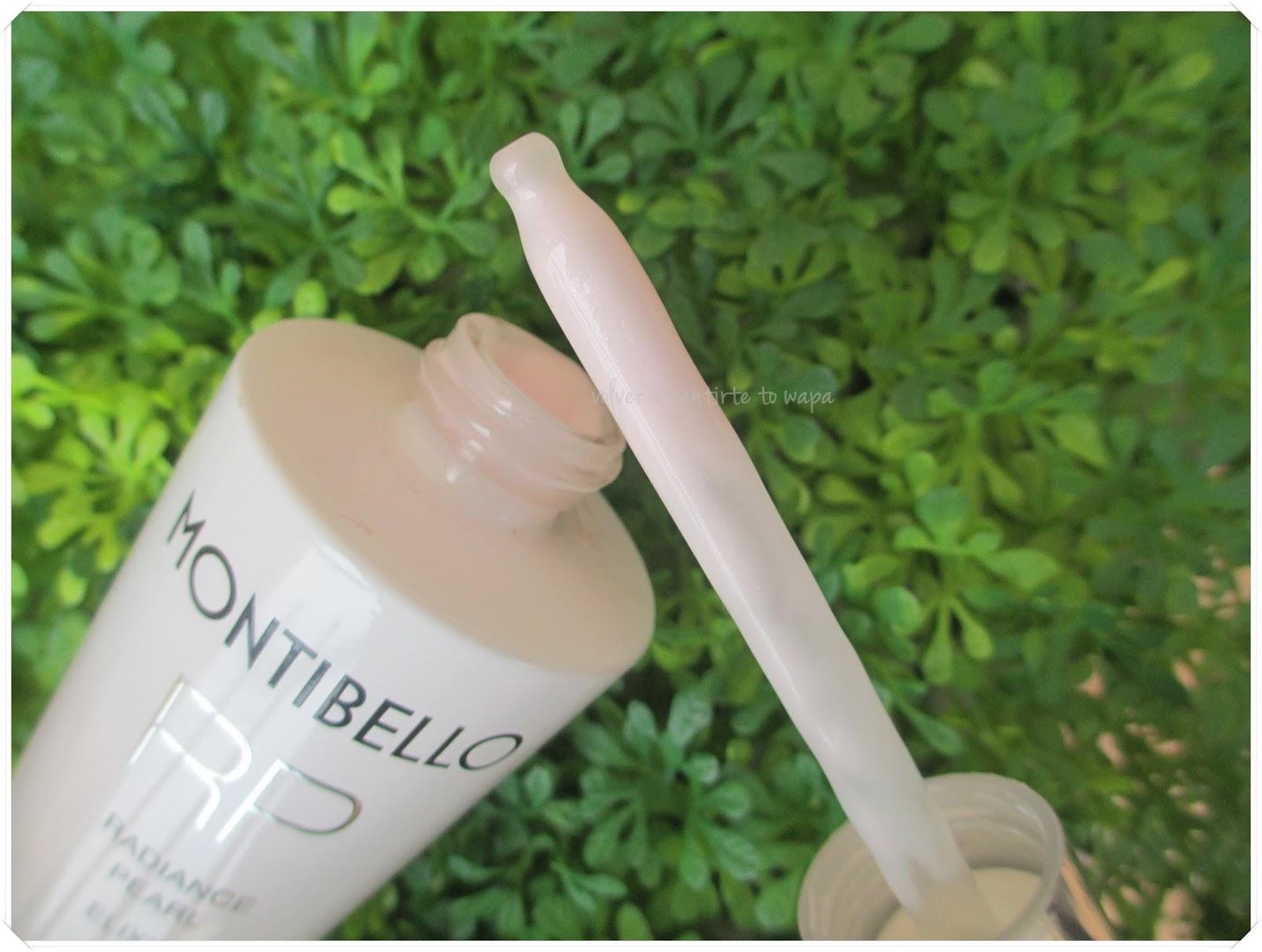 Radiance Pearl Elixir de Montibello, dando luz y vitalidad al rostro