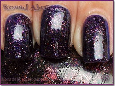 Nubar Purple Rain Swatch