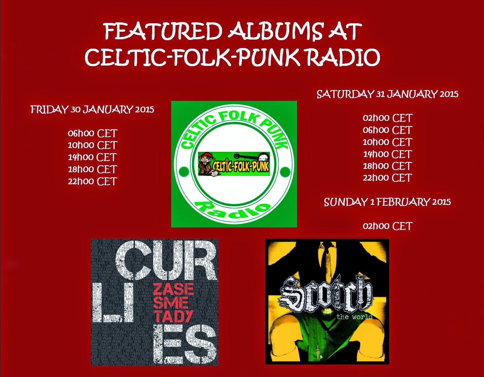 FEATURED CDs AT CELTIC FOLK PUNK RADIO (30-31 JANUARY 2015 ...