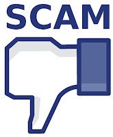 fb scam atau facebook scam sebagai spam facebook, jangan di like tapi unlike