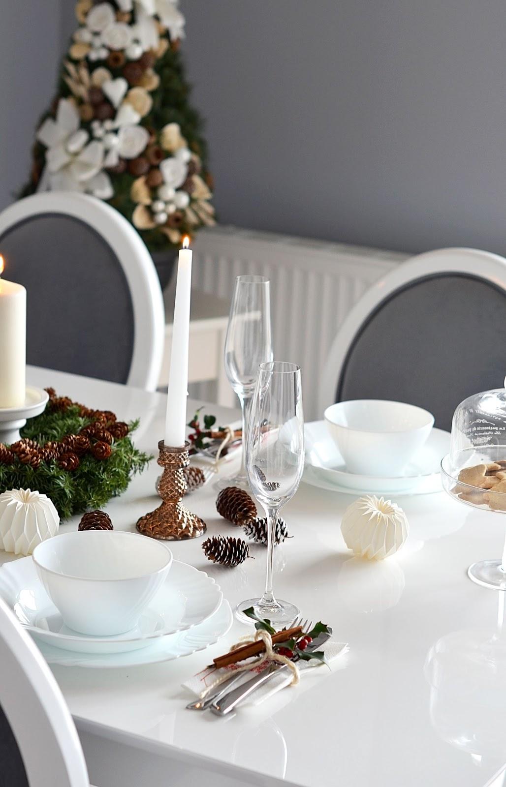 dekoracje stolu na swieta | blogi wnetrzarskie