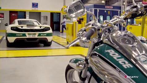 Amazing, It's 'Secret' Super Dubai Police Garage!
