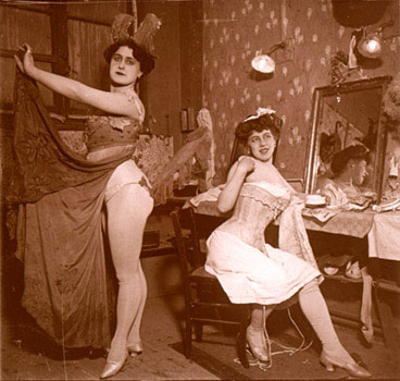 Moulin Rouge Dressing Room