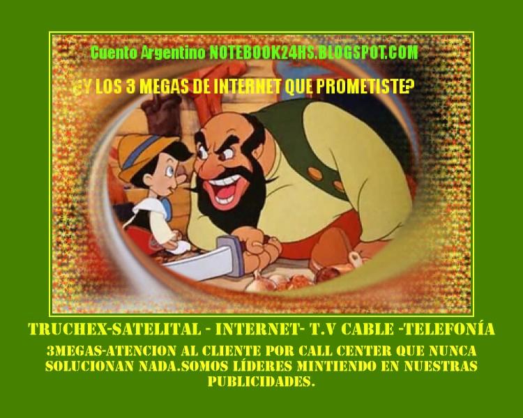 INTERNET ALTA VELOCIDAD?? EN ARGENTINA?? por favor