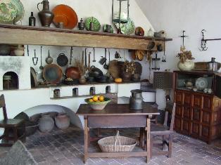 Aprendiendo culturas quinta anauco - Cocinas estilo colonial ...