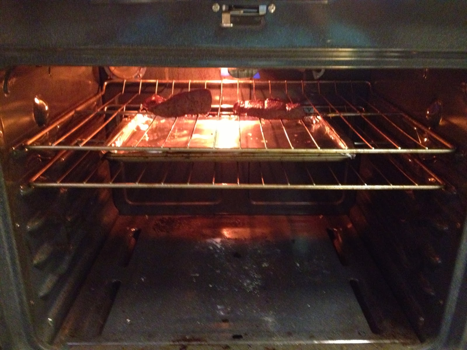 how to cook a steak in the oven medium well