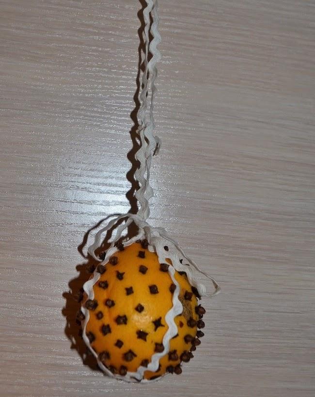 pomaranč s klinčekmi