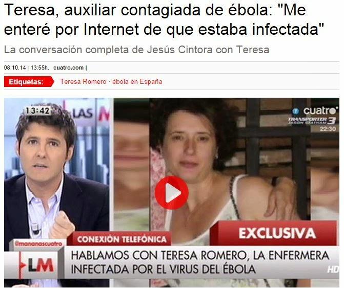 Teresa Romero habló en 'Las mañanas de Cuatro' con Jesús Cintora