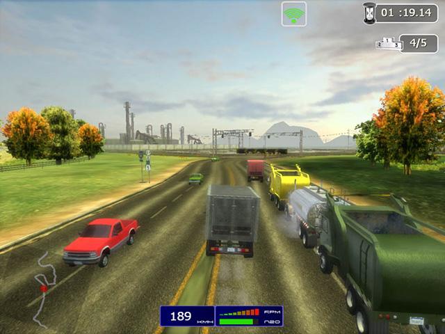 لعبة الشاحنات Trucker 2