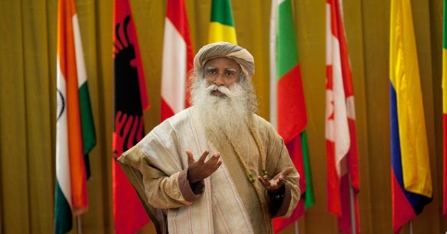 Indian Spiritual Guru Sadhguru attended the 12th World ...