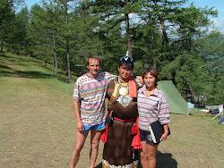 Валентин Хагдаев, друг нашей семьи и очень добрый и возвышенный человек. Потомственный шаман