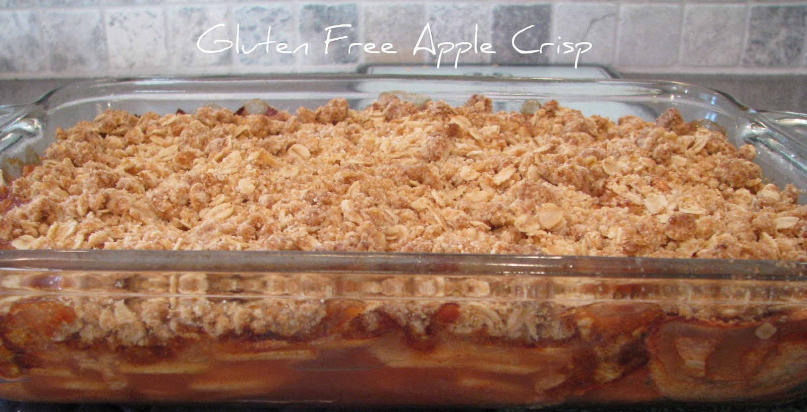 Adventures of D and V: Adventures in Gluten Free Cooking: Apple Crisp