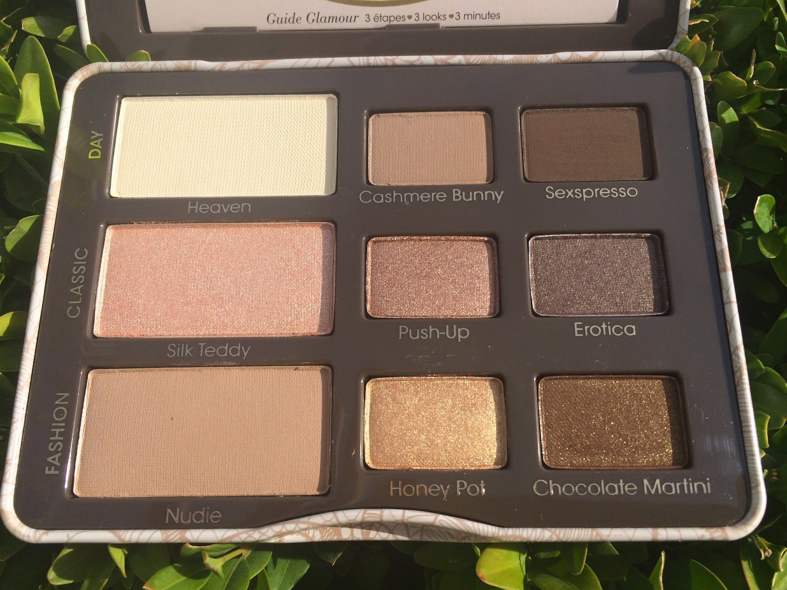 Too Faced Natural Eyes - Neutral Eye Shadow Collection Review