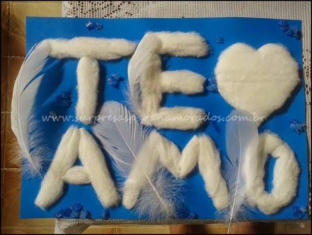 eu te amo de algodão