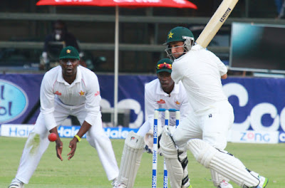 ZImbabwe vs Pakistan 1st test.