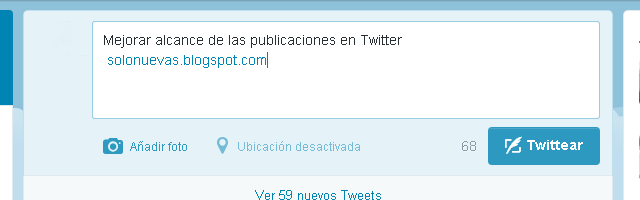 Mejorar alcance de las publicaciones en Twitter