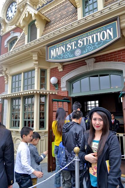 Main Street Station Hong Kong Disneyland (c) Rizza Salas