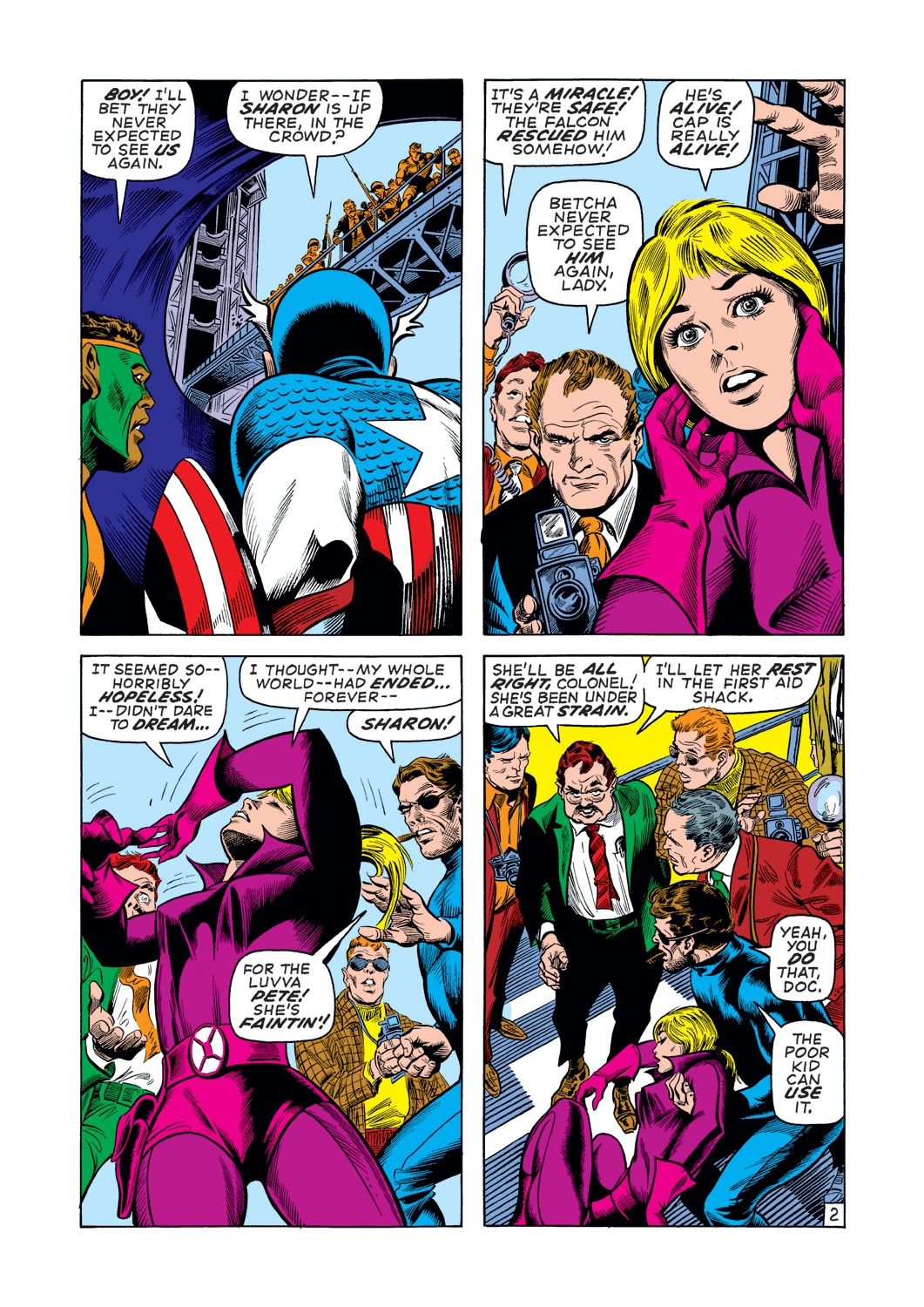 Captain America (1968) Issue #137 #51 - English 3