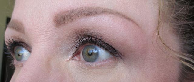 tarte tartelette amazonian clay matte eye shadow palette eye look 1 notes from my dressing table