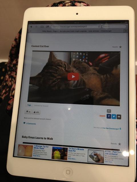 ThatRedheadSaid : mysalonlooks Hove iPad