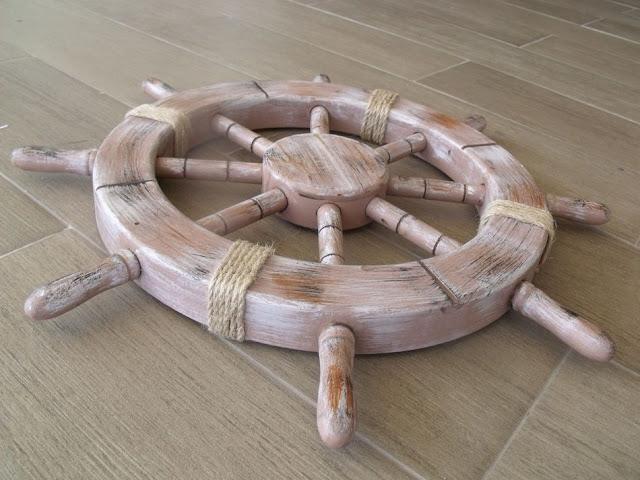 Rustic Ship Wheel