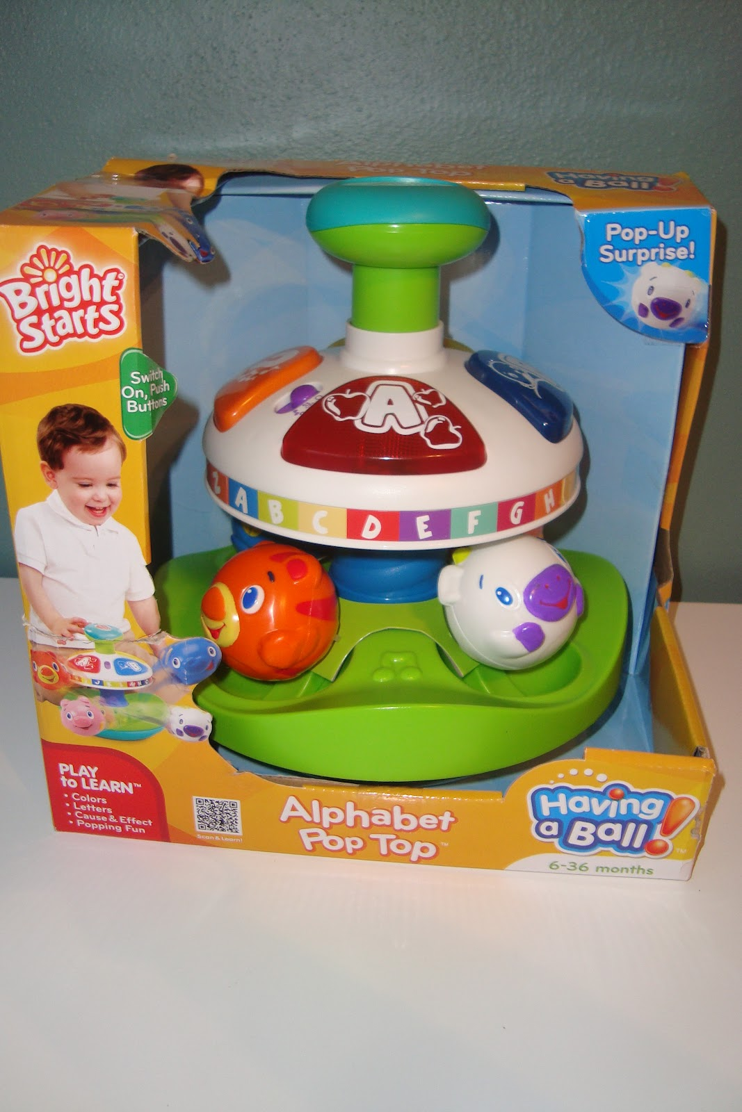 Best Ball Popper Toys For Kids : Trying to go green taggies™ take a long review bright