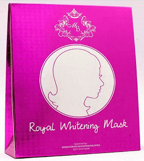 PINKISH BEAUTY ROYAL WHITENING MASK MENYEGARKAN WAJAH
