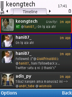 contoh RT twitter