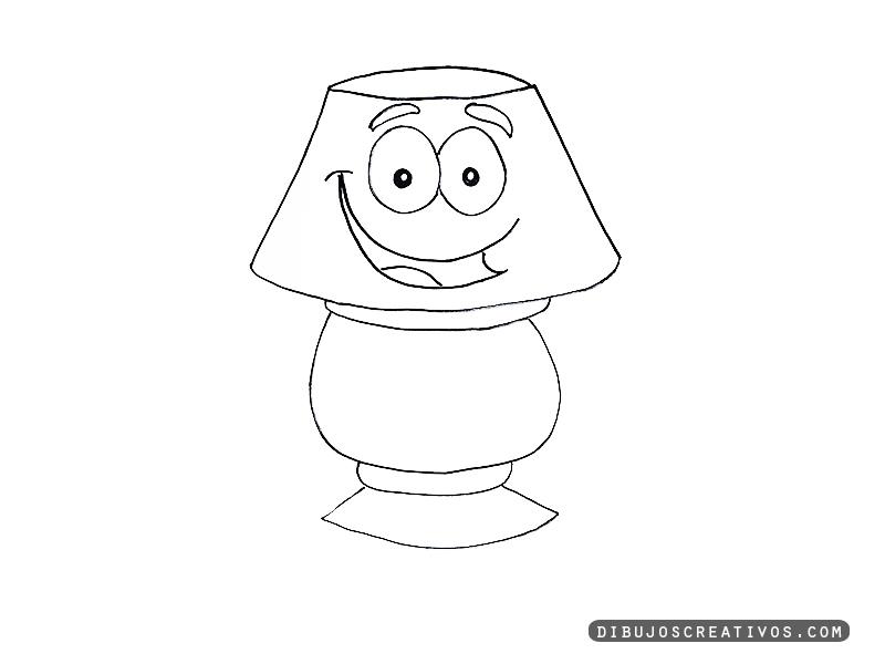 dibujos para pintar LAMPARA