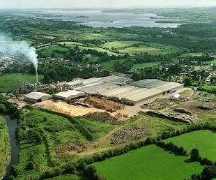 Fábrica de FINSA Forest Products en el centro de Irlanda