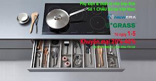 Bếp điện từ khuyến mại lớn