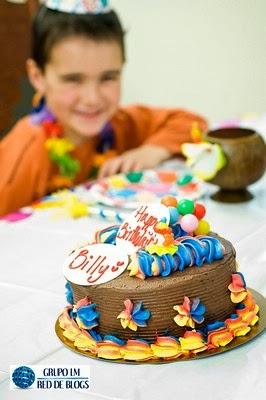 Las tortas para los cumpleaños
